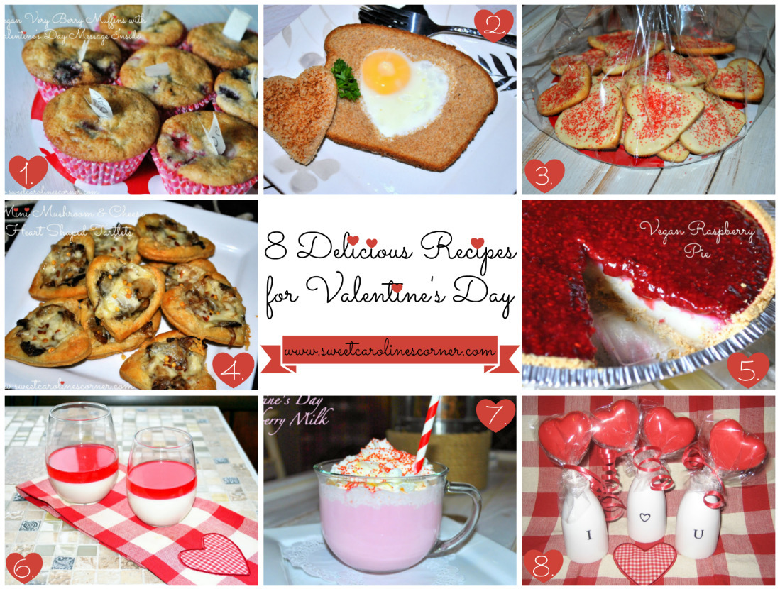 8 Delicious Recipes for Valentine's Day