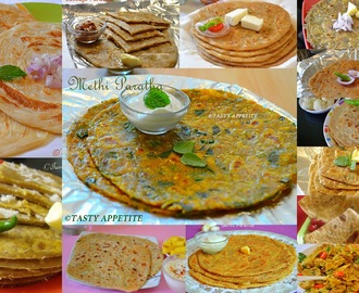 PARATHA RECIPES / 14 EASY PARATHA RECIPES / EASY DINNER RECIPES