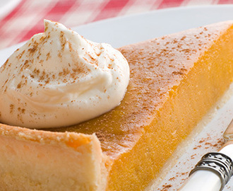 Around the world in 80 dishes: American pumpkin pie recipe