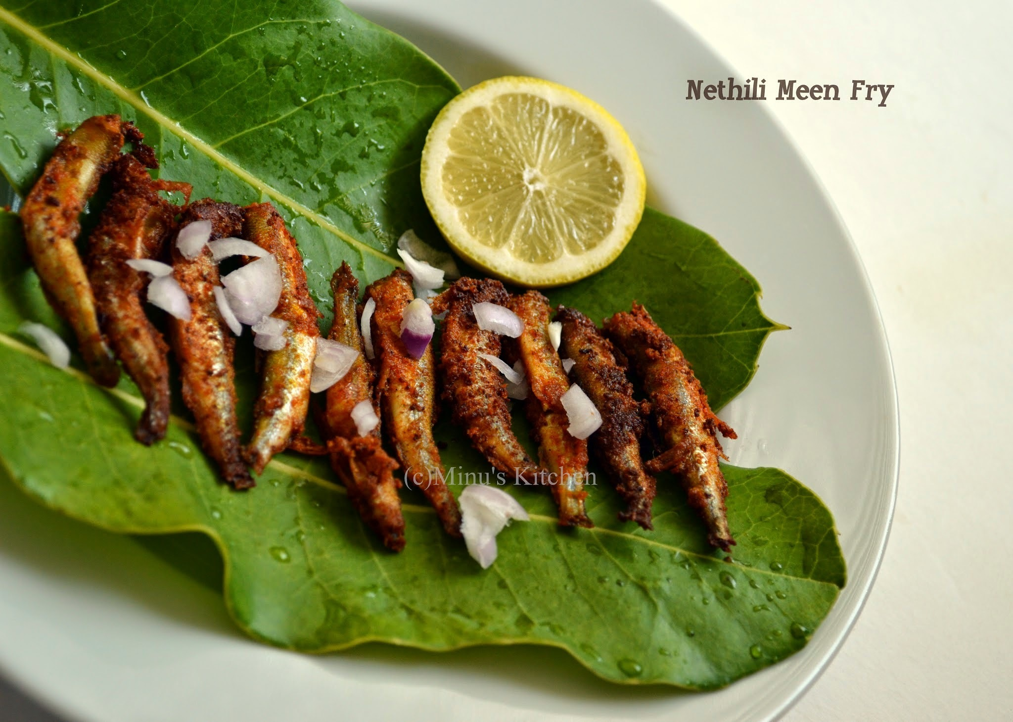 Nethili Meen Fry / Anchovies Fry