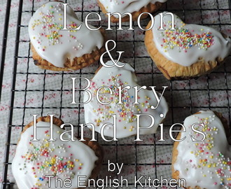 Simple Lemon and Berry Hand Pies