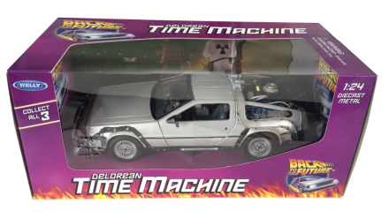 Modellbil Back to the Future Diecast Model 1/24 ´81 DeLorean LK Coupe