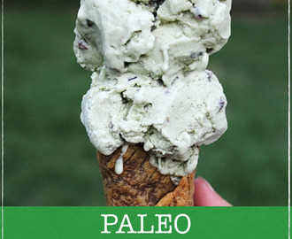 Paleo Mint Chip Ice Cream