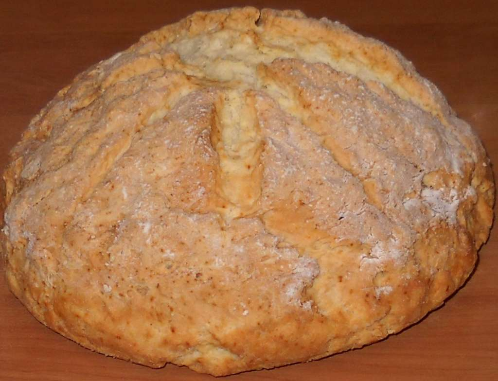Irish Soda Bread (irski soda hljeb)