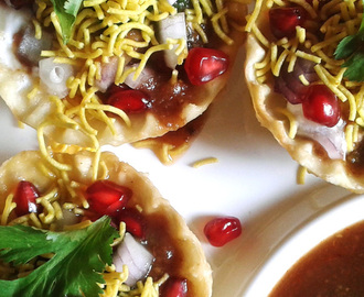 Sprout Potato Basket Chaat Recipe | How to make Potato Basket Chaat