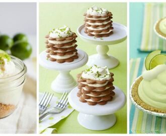 15 Luscious Lime Desserts