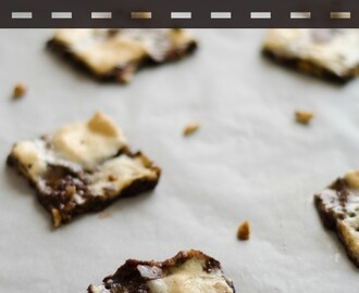 Roasted Rocky Road Bark