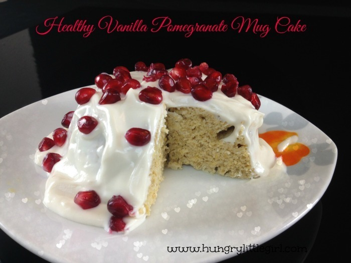 Healthy Vanilla Mug Cake – Basic Recipe