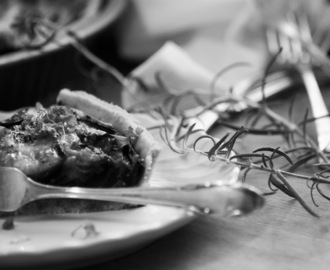 [Black & White] - Rote Beete Quiche