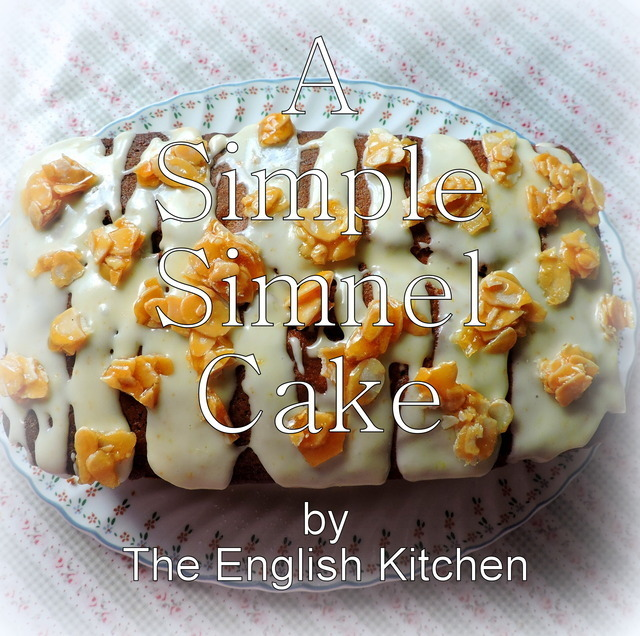 A Simple Simnel Cake