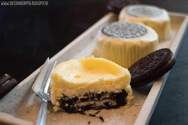 Mini Oreo New York Cheesecakes