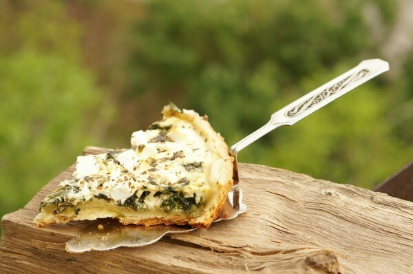 Pie with Feta and Spinach