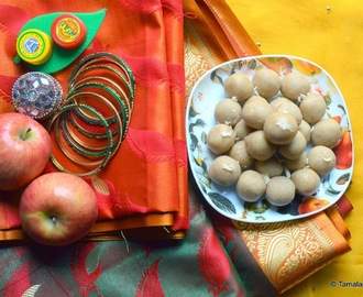 Badam Laddu - A Virtual Baby Shower