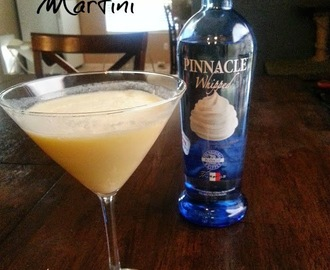 Cocktail: Orange Creamsicle Martini