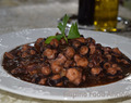 Adobong Pugita (Octopus Stewed in Soy Vinegar Sauce)