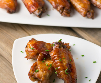 Baked Honey Garlic Chicken Wings