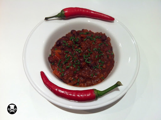 Chile con carne (Basque style).