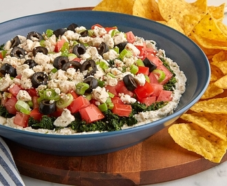 Mediterranean Six Layer Dip Recipe