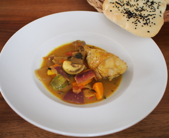 Chicken Curry mit Naanbrot
