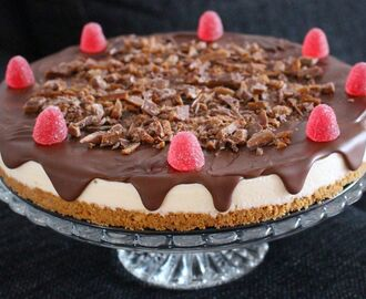 Cheesecake med choklad