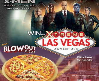 "Pizza Hut 18"" Blowout Pizza presents X-Men: Apocalypse and Xtreme Las Vegas Adventure"