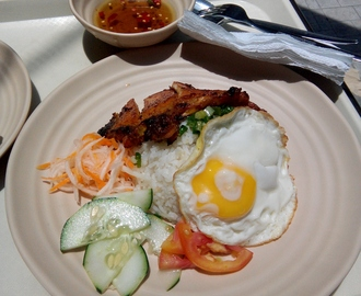 In Which One Lunched on Saigon-inspired Dishes…