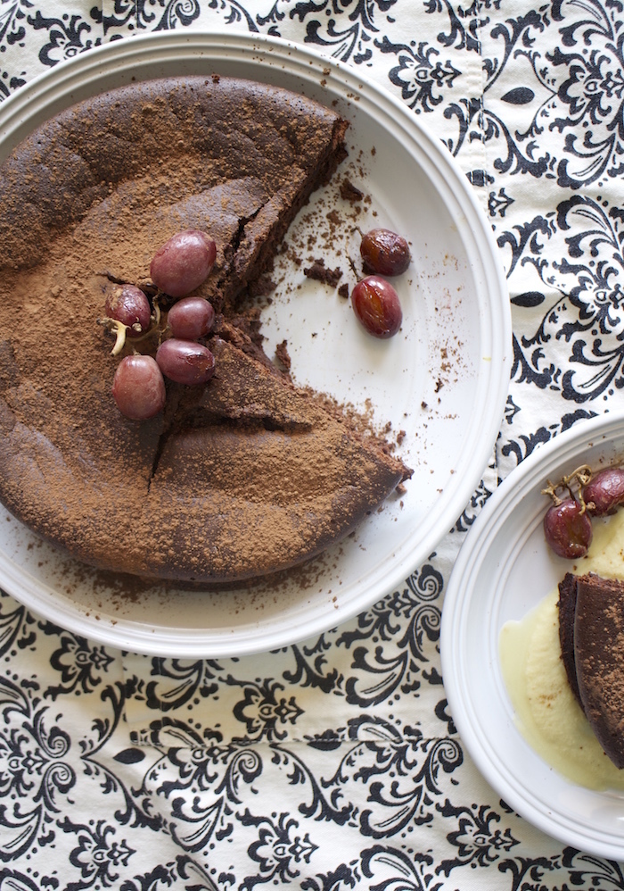 Flourless Chocolate 'Cloud' Cake, and Fair Trade Month