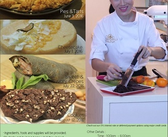 Workshops at Gourdo's: Hands-on Lifestyle Classes by Chef Jackie Ang-Po