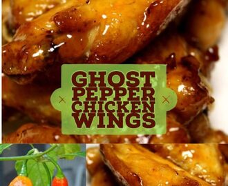 Ghost Pepper Chili Chicken Wings