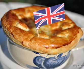 """Easy as Pie!"" - Ham, Leek and Herb Pie for British Pie Week 2016"