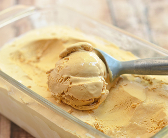 Two-Ingredient Dulce de Leche Ice Cream