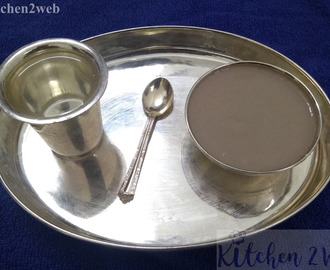 Ragi and Bajra(Koozh) Baby Food