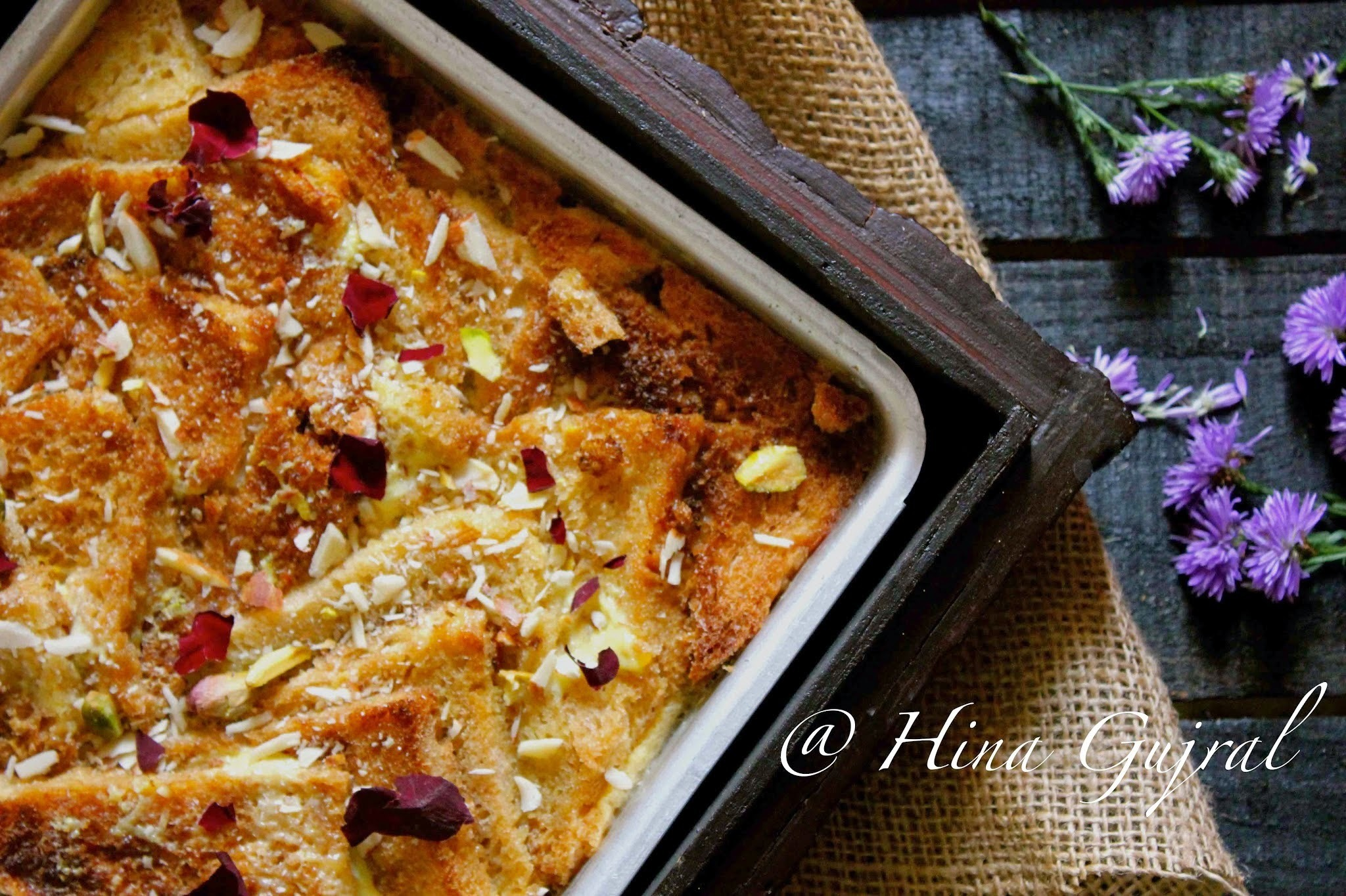 Double Ka Meetha - Indian Bread Pudding
