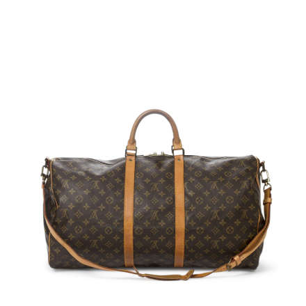 LOUIS VUITTON Keepall Bandouliere 55 Cm Aak0667, Brown