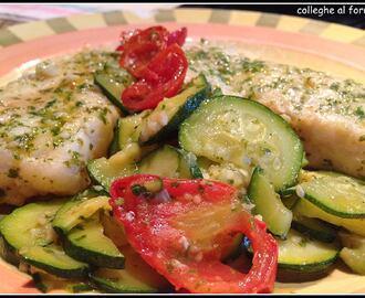 Ricette di merluzzo al verde mytaste - Cucinare merluzzo surgelato ...