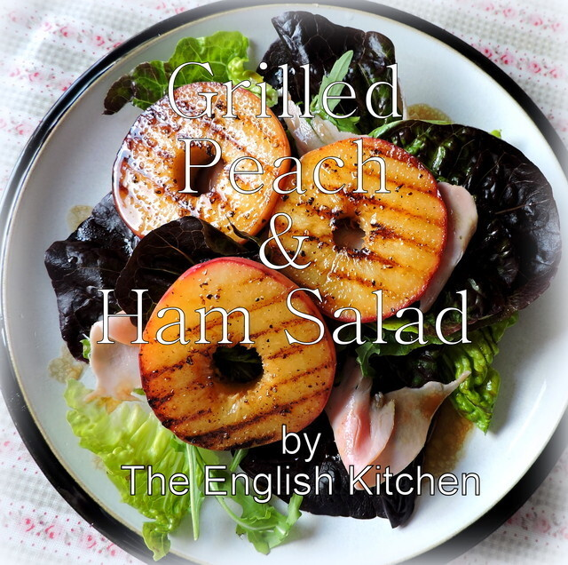 Grilled Peach and Ham Salad