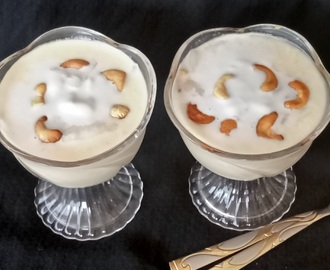 Elaneer Pudding/Tender Coconut Pudding