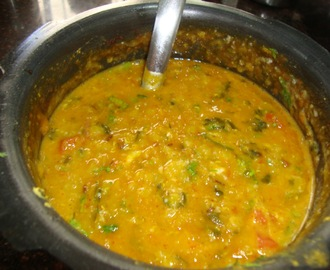 Methi Dahl  Recipe