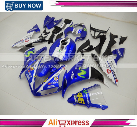 For Yamaha R1 2004 05 06 Years ABS Motorbike Fairing 04 2005 2006 YZF R1 Full Fairings Kits 100% Good Quality