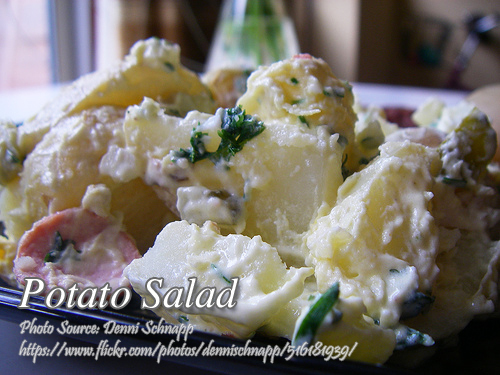 Potato Salad ( Pinoy Style)