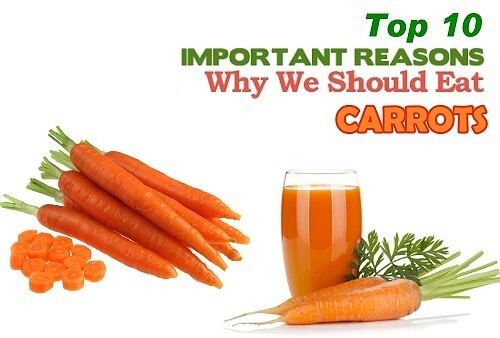 Top 10 Health Benefits of Carrots