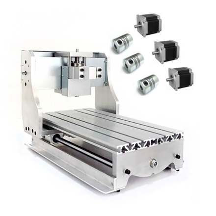 DIY CNC frame for CNC Engraving Machine 3020Z with ball screw