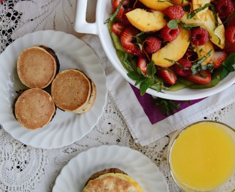 Summer Fruit Salad with Jimmy Dean Breakfasts