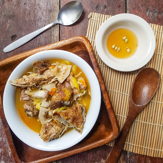 Pork Ribs and Young Jackfruit Soup