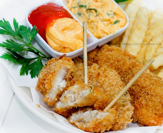 Fish and Chips (versi tanpa beer)