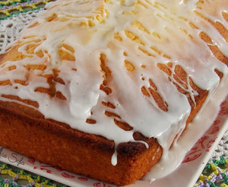 Bolo de limão e coco / Lemon and coconut cake
