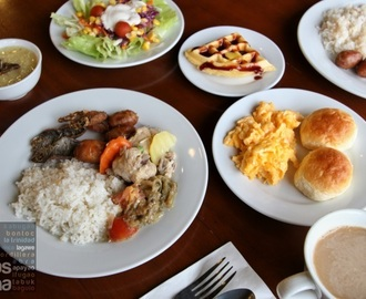 Buffet Breakfast at Venus Parkview Hotel in Baguio City