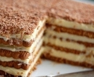 Marie Biscuit Cake Recipe