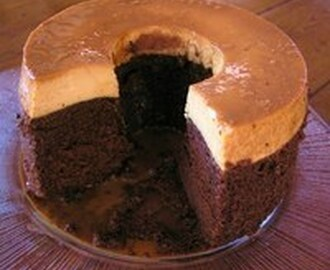 Mexican Chocoflan (Pastel Imposible -- Impossible Cake) Recipe