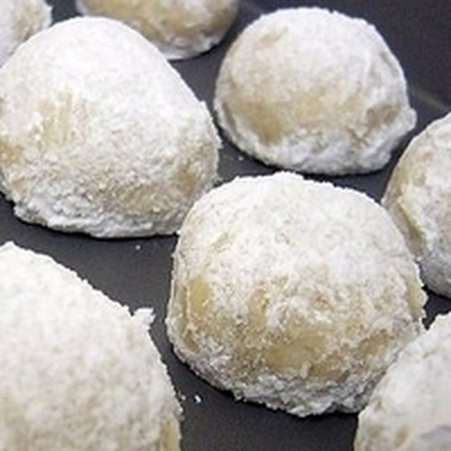Italian Snowball Cookies Recipe